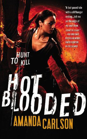 Hot Blooded by Amanda Carlson (Jessica McClain #2) // VBC Review