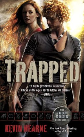 Post Thumbnail of ARC-review: Trapped by Kevin Hearne