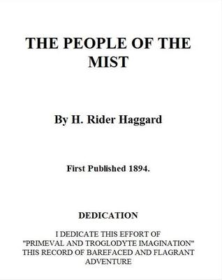 The People of the Mist by H. Rider Haggard