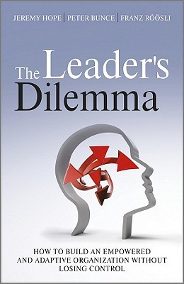 The Leader's Dilemma by Jeremy Hope
