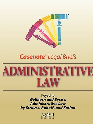Administrative Law by Aspen Publishers