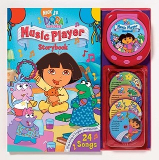 Nick JR. Dora the Explorer Music Player and Storybook by Christine Ricci