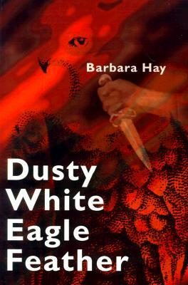 Dusty White Eagle Feather by Barbara Hay