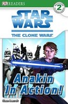 Star Wars The Clone Wars: Anakin in Action! (DK READERS)