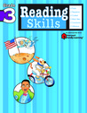 Reading Skills: Grade 3 (Flash Kids Harcourt Family Learning)
