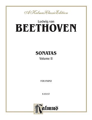Sonatas (Urtext), Vol 2 by Ludwig van Beethoven