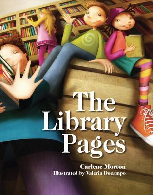 The Library Pages by Carlene Morton