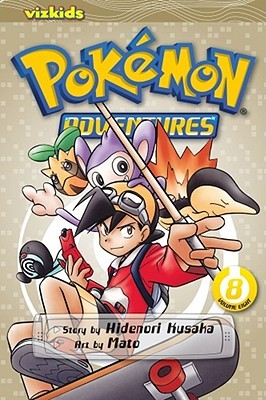 Pokémon Adventures, Volume 8 by Hidenori Kusaka