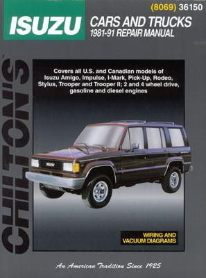 Isuzu: Cars and Trucks 1981-91  by  Chilton Automotive Books
