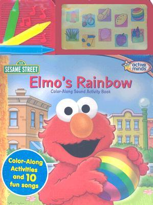 Elmo's Rainbow: Color Along Sound Activity Book [With Soudboard]