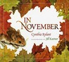 In November by Cynthia Rylant