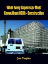 What Every Supervisor Must Know About Osha   Construction