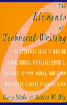 The Elements of Technical Writing (Elements of Series)