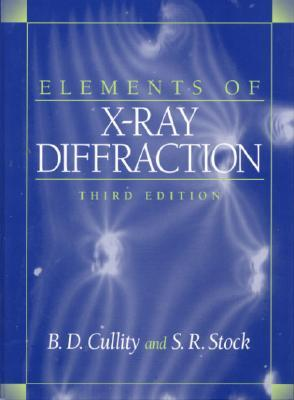 Elements of X-Ray Diffraction by B.D. Cullity