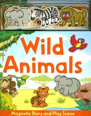 Wild Animals Magnetic Story & Play Scene