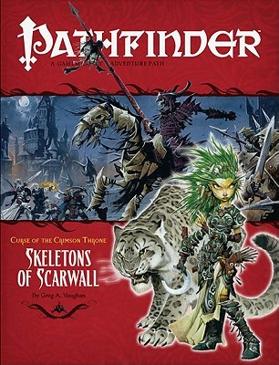 Pathfinder #11—Curse of the Crimson Throne Chapter 5 by Greg A. Vaughan