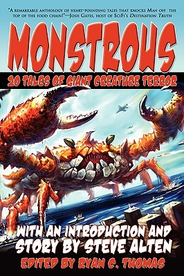 Monstrous by Steve Alten