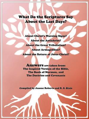 What Do the Scriptures Say about the Last Days?: Answers Are Taken From: The Inspired Version of the Bible, the Book of Mormon, and the Doctrine and C