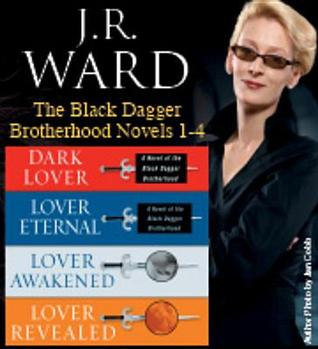 J.R. Ward the Black Dagger Brotherhood Novels 1-4 by J.R. Ward