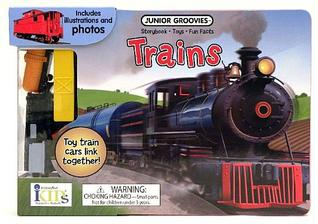 Junior Groovies: Trains (Storybook, Fun Facts and Toys)