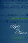 Style and Music: Theory, History, and Ideology