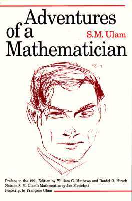 Find Adventures of a Mathematician iBook by Stanislaw M. Ulam