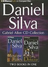 Daniel Silva Gabriel Allon CD Collection 2: Moscow Rules, The Defector