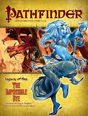 The Impossible Eye (Pathfinder, #23) by Greg A. Vaughan