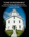 Come to Peterboro: Commemorating the 175th Anniversary of the Founding of the New York State Anti-Slavery Society, October 21-22, 1835