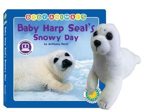 Baby Harp Seal's Snowy Day [With Plush]