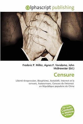 Censure by Frederic P.  Miller