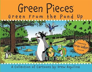 Green Pieces by Drew Aquilina