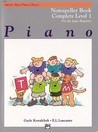Alfred's Basic Piano Course Notespeller: Complete 1 (1a/1b)
