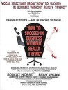 How to Succeed in Business Without Really Trying: Vocal Selections