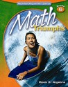 Math Triumphs, Grade 6 Book 3: Algebra