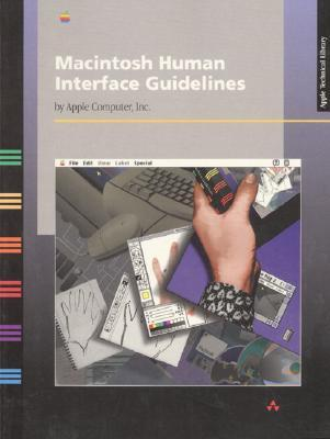 Macintosh Human Interface Guidelines by Apple Inc.