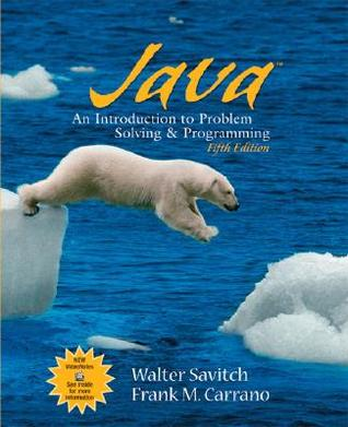 Java: Introduction to Problem Solving and Programming