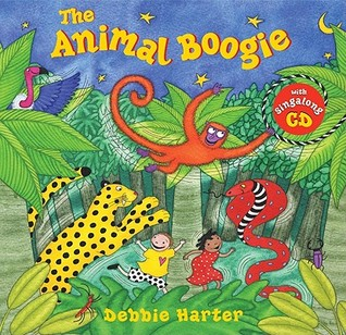 Animal Boogie (Hardcover with CD)