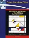 Research Methods in Education: An Introduction. William Wiersma, Stephen G. Jurs