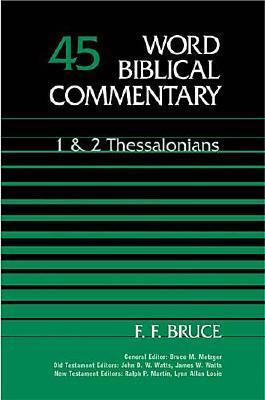 1 & 2 Thessalonians by F.F. Bruce