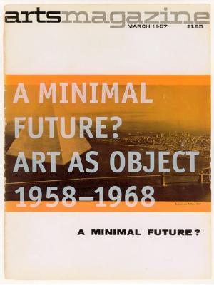 A Minimal Future? by Ann Goldstein