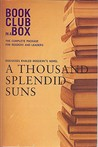 Bookclub-in-a-Box Discusses A Thousand Splendid Suns by Khaled Hosseini