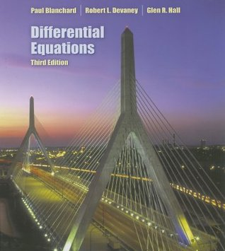 Differential Equations by Paul Blanchard