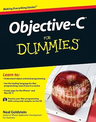Objective-C for Dummies [With CDROM] by Neal Goldstein