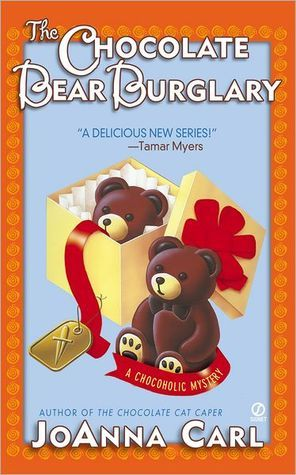 The Chocolate Bear Burglary (A Chocoholic Mystery #2)  by  JoAnna Carl
