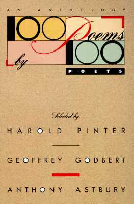 100 Poems by 100 Poets by Harold Pinter