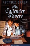The Callender Papers by Cynthia Voigt