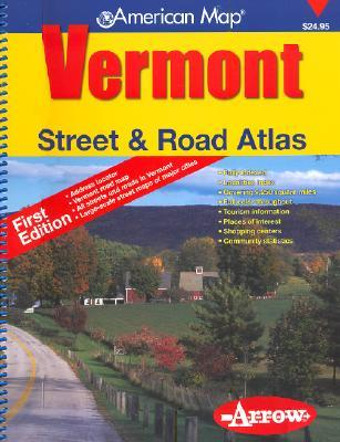 Vermont Street & Road Atlas