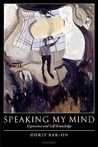 Speaking My Mind: Expression and Self-Knowledge