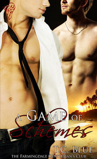 A Game of Schemes (Farmingdale Gentleman's Club, #4)